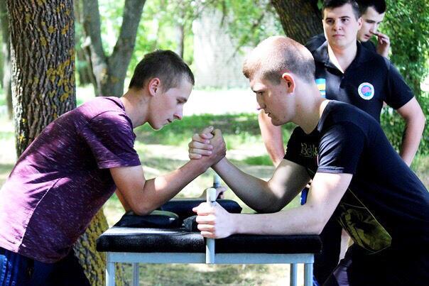 В Херсонском техуниверситете провели «Богатырские игры»